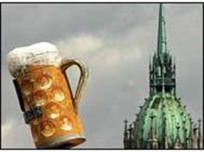 Bira ve İsa aynı ilanda